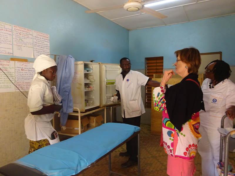 Mission de Brenda Mallon pour la formation des attachés de recherche clinique