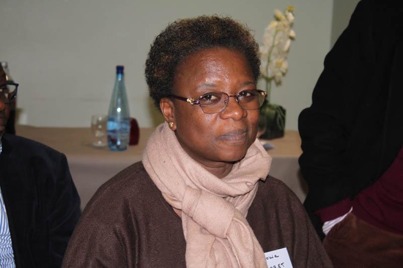 Dr Sonia Kaboret, responsable de l'unité d'oncologie pédiatrique au CHU Charles de Gaulle, Ouagadougou