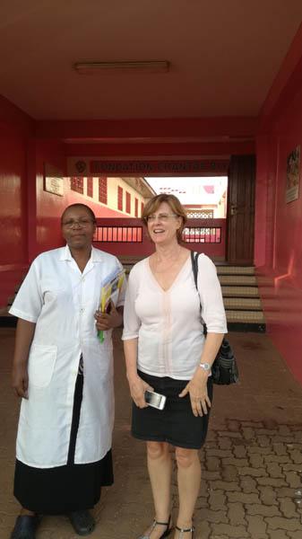 Dr Angèle Pondy et Brenda Mallon
