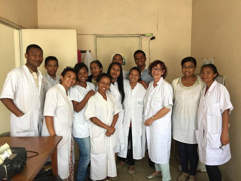 Mission de formation en anatomopathologie à Madagascar