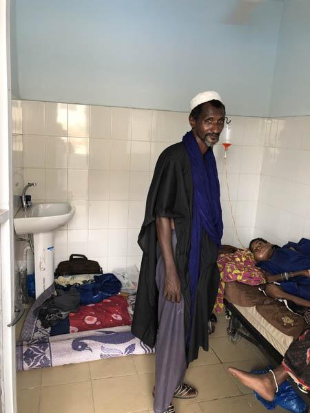 2019, Rénovation des chambres dans le service d'oncologie pédiatrique à Bamako