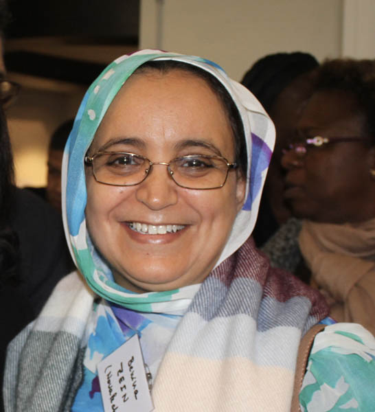 Dr Bénina Zein, chef de service et Directrice du centre