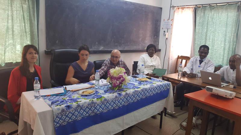 visite de l'i-unité par l'AFD