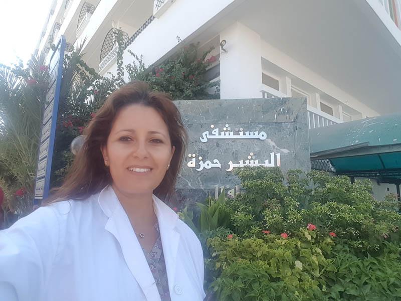 Pr Faten Fedhila, chef de service