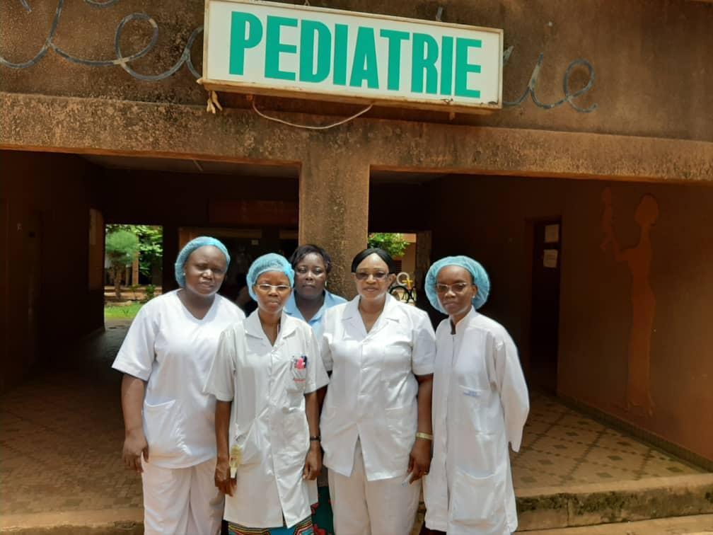 L'équipe du CHU Yalgado Ouadréago