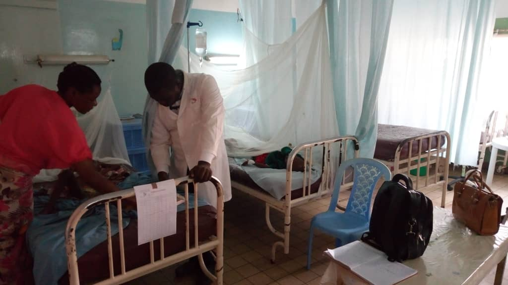 La visite des patients