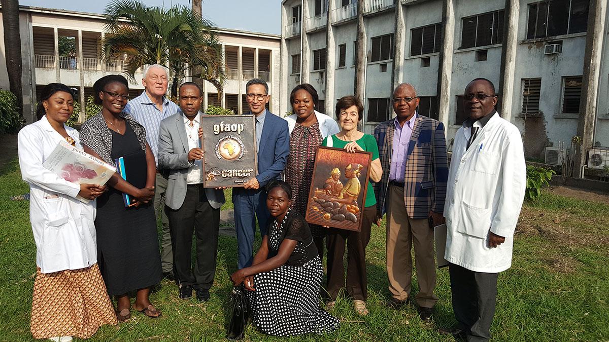 Mission GFAOP à Kinshasa, ouverture de l'unité de soins