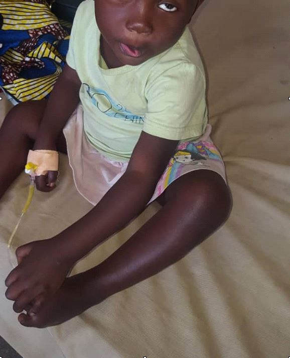 Nard, opéré d'un rétinoblastome