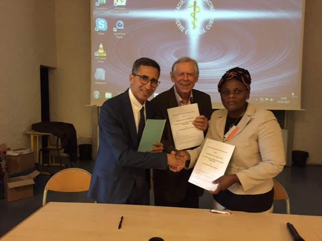 Signature de la convention et de l'adhésion de l'unité au GFAOP