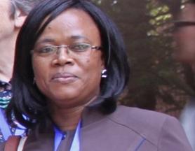 Dr Aichatou Mahamadou,responsable de l'unité d'oncologie pédiatrique